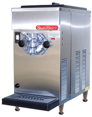 Frozen Cocktail/Beverage Freezer, counter model, air-cooled, self-contained refrigeration, 1 head, 20 qt. evaporator & refrig. mix capacity, stainless steel exterior, AccuFreeze solid-state control, visual mix out system, 1/4 HP dasher, 1/2 HP compressor, UL, NSF