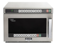 Heavy Duty Compact Commercial Microwave Oven - R-CD1800M