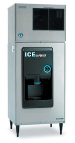 "Ice Dispenser, approximately 200-lb built-in storage capacity, accommodates KM-320, KM-340, KM-515, KM-600, KM-650 or KML Series, ABS molded front, vinyl covered steel side panels, 6"" painted legs, ice dispensing area is ADA compliant, 115v/60/1-ph, 1.4 amps, 60 watts (SHOWN WITH KML-631MAH)"