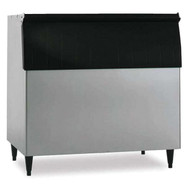 """Ice Bin, 48""""W, top-hinged front-opening door, 800-lb ice storage capacity, for top-mounted ice makers, stainless steel exterior, painted legs included, protected with H-GUARD Plus Antimicrobial Agent, ETL, ETL-Sanitation"""
