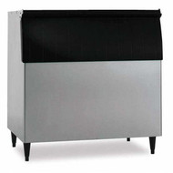 """Ice Bin, 44""""W, top-hinged front-opening door, 700-lb ice storage capacity, for top-mounted ice makers, stainless steel exterior, painted legs included, protected with H-GUARD Plus Antimicrobial Agent, ETL, ETL-Sanitation"""