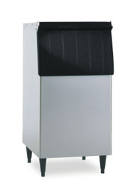 """Ice Bin, 22""""W, top-hinged front-opening door, 300-lb ice storage capacity, for top-mounted ice maker, vinyl clad, painted flange legs included, protected with H-GUARD Plus Antimicrobial Agent, ETL, ETL-Sanitation"""