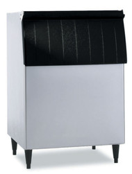 """Ice Bin, 30""""W, top-hinged front-opening door, 500-lb ice storage capacity, for top-mounted ice maker, stainless steel exterior, painted legs included, protected with H-GUARD Plus Antimicrobial Agent, ETL, ETL-Sanitation"""