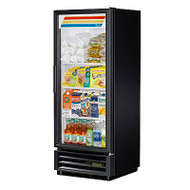"""Refrigerated Merchandiser, one-section, (3) shelves, laminated vinyl exterior, white interior with stainless steel floor, (1) Low-E thermal glass hinged door, LED interior lights, R290 Hydrocarbon refrigerant, 1/6 HP, 115v/60/1, 2.0 amps, NEMA 5-15P, (depth does not include 1"""" for rear bumpers), ENERGY STAR®, cULus, CSA, CE, UL EPH Classified, MADE IN USA. CALL FOR YOUR PRICE"""