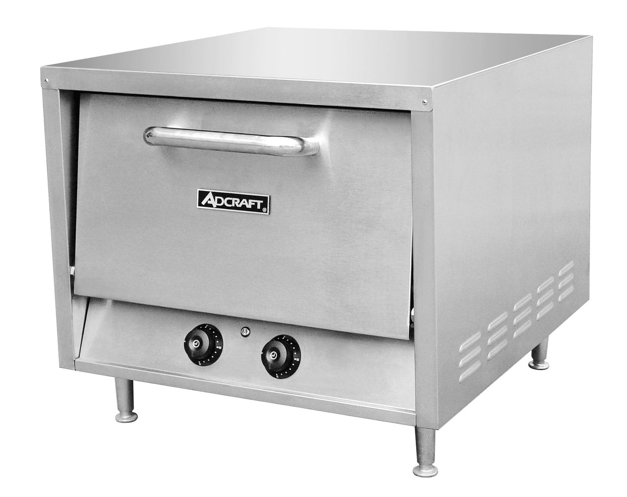 Adcraft Po 22 22 Quot Deck Type Stackable Pizza Oven W