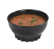 Tropez® Convection/Thermalization Ware Bowl, 9 oz., high-temp, constructed of high heat resin, onyx (48 each per case) (9300B/11)