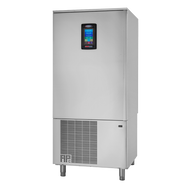 """HURRiCHiLL™ Blast Chiller/Shock Freezer, SHIPS FREE,Reach-in, self-contained, (24) 12"""" x 20"""" x 2.5"""" or (12) 18"""" x 26"""" pan capacity, 110 lbs. from 160° F to 38° F blast chill capacity/90 minutes, 90 lbs. 160° F to 0° F freeze capacity/240 minutes, 7"""" LCD touch screen controller with Quick Start & A La Carte functionality, (1) heated food probe, stainless steel interior & exterior, 6"""" stainless steel legs, 3 HP, UL CLASSIFIED EPH, cUL, ANSI/NSF"""