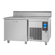 """HURRiCHiLL™ Blast Chiller/Shock Freezer, SHIPS FREE, Work Top, self-contained, (7) 18"""" x 26"""" pan capacity, 70 lbs. from 160° F to 38° F blast chill capacity/90 minutes, 42 lbs. 160° F to 0° F freeze capacity/240 minutes, 7"""" LCD touch screen controller with Quick Start & A La Carte functionality, (1) heated food probe, stainless steel interior, exterior & top, 6"""" stainless steel legs, 1-1/2 HP,  UL CLASSIFIED EPH, cUL, ANSI/NSF"""