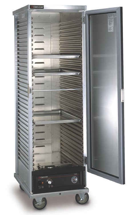 Cres Cor 130 1836d Mobile Heated Food Cabinet