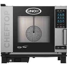 """ChefTop MIND.Maps™ Plus Combi Oven, gas, countertop, (5) 1/1 GN or (5) 12""""x20"""" hotel size pan capacity, MIND.Maps™ technology, programmable menu, 2-5/8"""" shelf spacing, glass door, right-to-left door opening, stainless steel interior & exterior, 0.5 kW, 120v/60/1-ph, 51,000 BTU"""