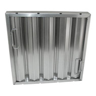 "Baffle Filter, 20""H x 20""W nominal size, 2"" thickness, 22 gauge, framed, aluminum (CCC item J-260) (ICS item A1580)"
