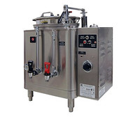 AMW™ Coffee Urn, single, automatic, single wall insulated, fresh water heat exchange brewing system, 3 gallon capacity liner, electric heat, side mounted control panel, UL, CSA, NSF (Grindmaster)