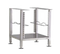 Accessory stand with extra set of pan slides. Casters also available.