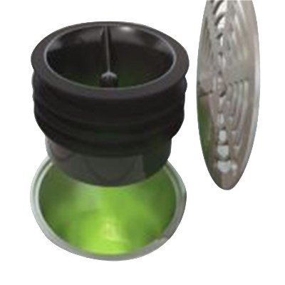 """Bar Maid®Fly-Bye™ Floor Drain Trap Seal, 2"""", one-way silicon valve, for 2"""" size pipe (6 individual retail packaged traps per case)"""