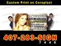 4'x8' Custom Print Coroplast Sign Board Full Color LOCAL PICKUP