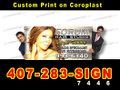 4'x4' Custom Print Coroplast Sign Board Full Color LOCAL PICKUP