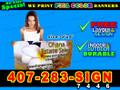 2x4  Banner Sign Full Color Custom Print  [LOCAL PICKUP]