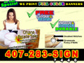 3x8  Banner Sign Full Color Custom Print (FREE SHIPPING)