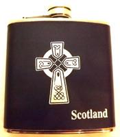 Celtic Cross Hip Flask