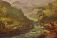 'Glen Sheil', Art Print By Prudence Turner
