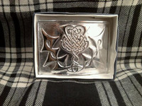 Chrome Belt Buckle