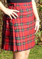 Custom-made Kilted Skirt