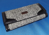 Harris Tweed Clutch Purse Wallet