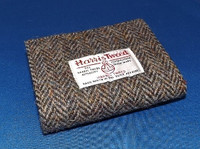 Harris Tweed Double Fold Wallet