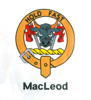Clan Collared T-Shirt - Macleod