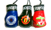 Flag and Football Boxing Gloves