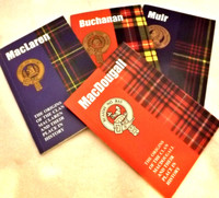 Clan Crest Heritage Books