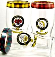 Clan Crest Beer Glasses