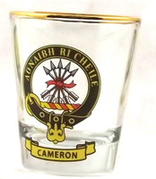 Clan Crest Tot Glasses
