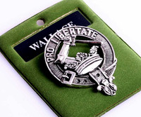 Art Pewter Clan Crest Badge
