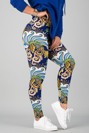 Pattern Print Leggings || 2
