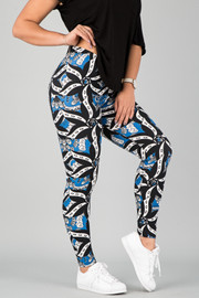 Pattern Print Leggings || 21