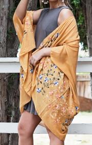 Fumika Kimono   Mustard