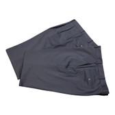 Petrocelli by Eisenberg Wool Blend Charcoal Stripe Suit Pant