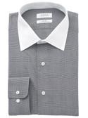 Enro Non-Iron Spread Collar Darrington Check Dress Shirt