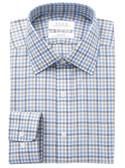 Enro Non-Iron Spread Collar Hartline Check Dress Shirt