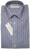 Enro Non-Iron Spread Collar Multi Stripe Dress Shirt