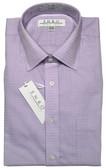 Enro Non-Iron Spread Collar Lavender Check Dress Shirt