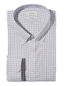 Enro Non-Iron Button Down Collar Brockton Check Big & Tall Dress Shirt