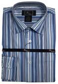 Jon Randall Blue Stripe Sportshirt