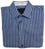 Jon Randall Oxford Blue Stripe Sportshirt