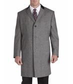 Jean Paul Germain Wool Blend Chesterfield Top Coat
