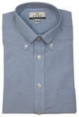 Enro American Oxford Button Down Collar Solid Color Dress Shirt - 110122