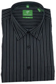 Forsyth of Canada Classic Fit Non-Iron Long Sleeve Multi Stripe Sport Shirt 8251-ONY