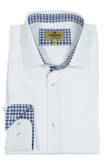 Trend by Fusion White Tonal Solid Sportshirt