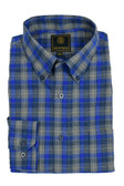 Fusion Royal Multi Check Flannel Tall Size Sportshirt